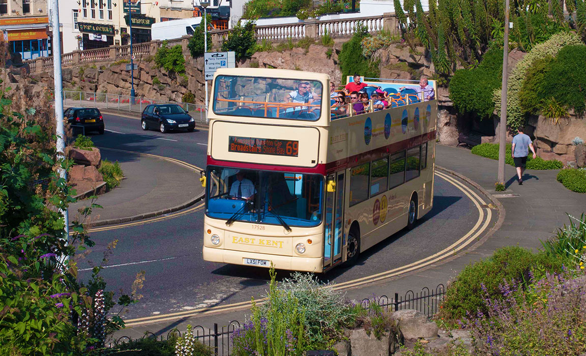 Broadstairs Open Top Bus